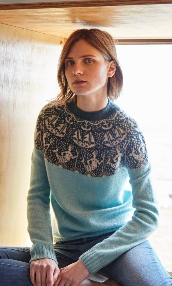 Mermaid jumper - Plümo Ltd have that cosy hygge weekend winter ...