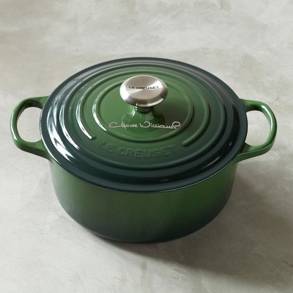 Le Creuset Chuck S Birthday In Sonoma Green Chucks100th