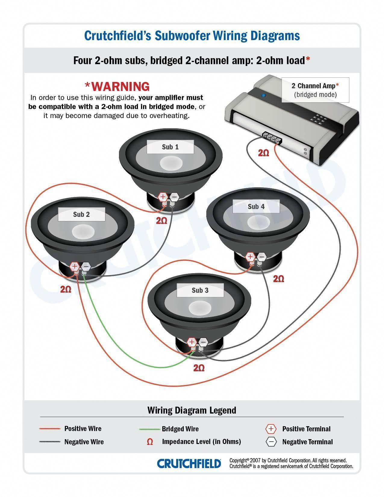 Subwoofer Wiring Diagrams With Diagram Sonic Electronix Gooddy Org Best Of Dual 1 Ohm Subwoofer Wiring Subwoofer Car Audio Installation
