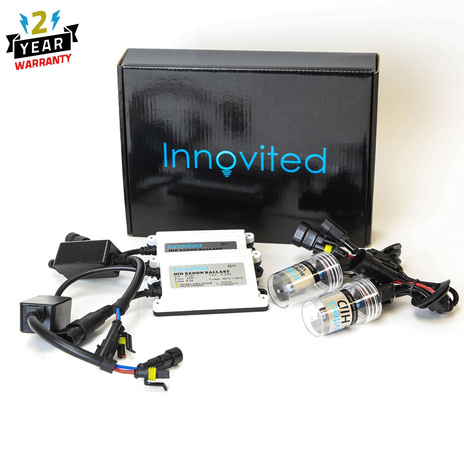 http motorcyclespareparts net innovited ac 55w hid kit h4 h7 h11 h13 9003 9005 9006 9007 6000k hi lo bi xenon innovited ac 55w hid kit h4 h7 h11 h13 9003  [ 1600 x 1600 Pixel ]