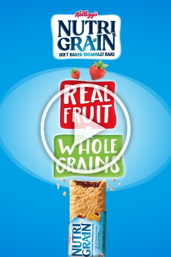 Made with real fruit and whole grains. Mornings have never been easier. Or tasti...