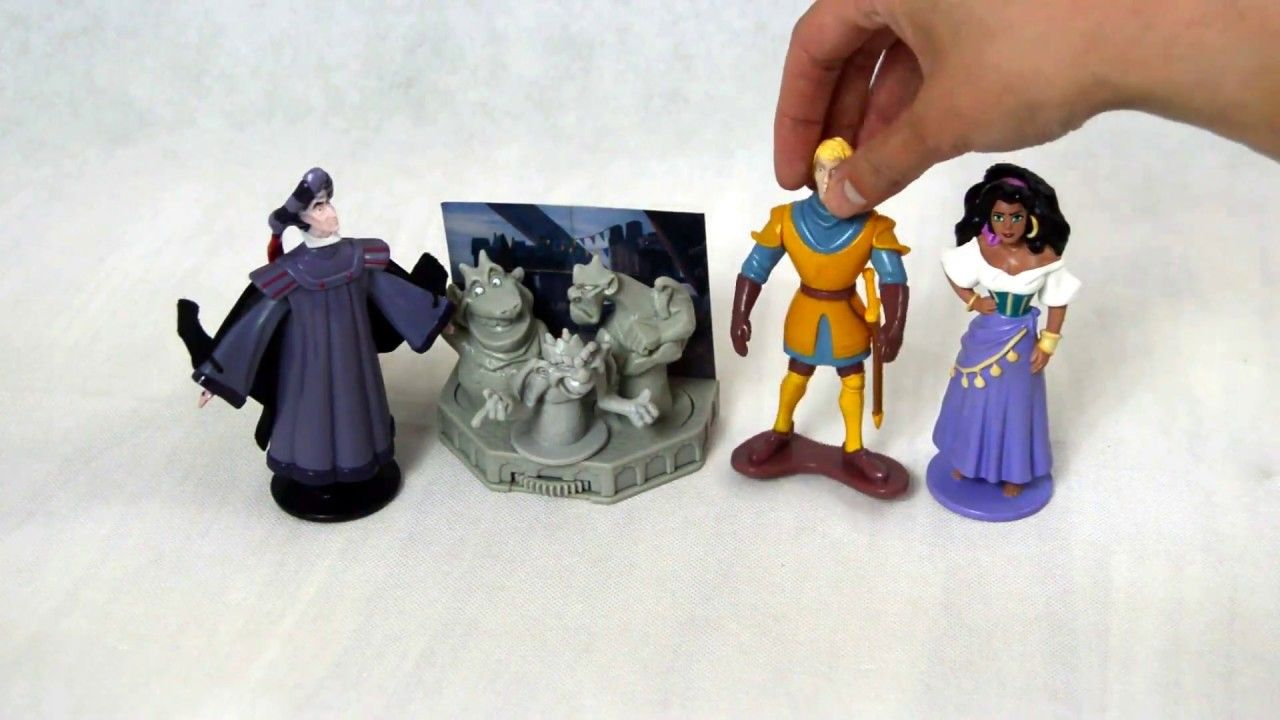 Disney Hunchback Of Notre Mcdonalds Happy Meal Toys Retro Vintage Happy Meal Toys Happy Meal Mcdonalds Happy Meal