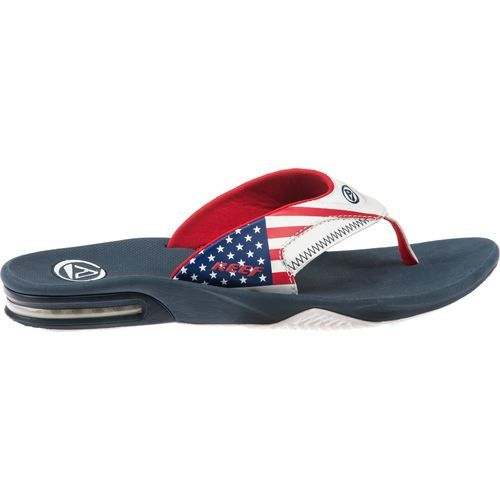 7f85f68c585f Reef Men s Fanning Flag Print Sandals  AcademySports  OakParkMall ...