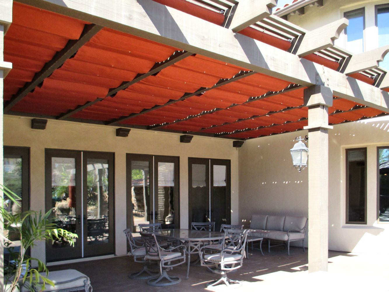 Slide Wire Cable Awnings By Superior Awning Let The Sun Shine Slide Wire Cable Awnings Slide Wire Canopy Backyard Inspiration