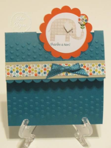 Patterned Occasions Thank You by Haileydy - Cards and Paper Crafts at Splitcoaststampers