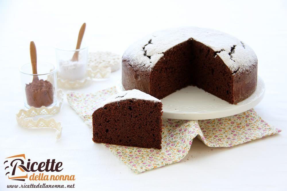 Torte Da Credenza Al Cioccolato : Torta al cioccolato morbida ricetta ricette della nonna