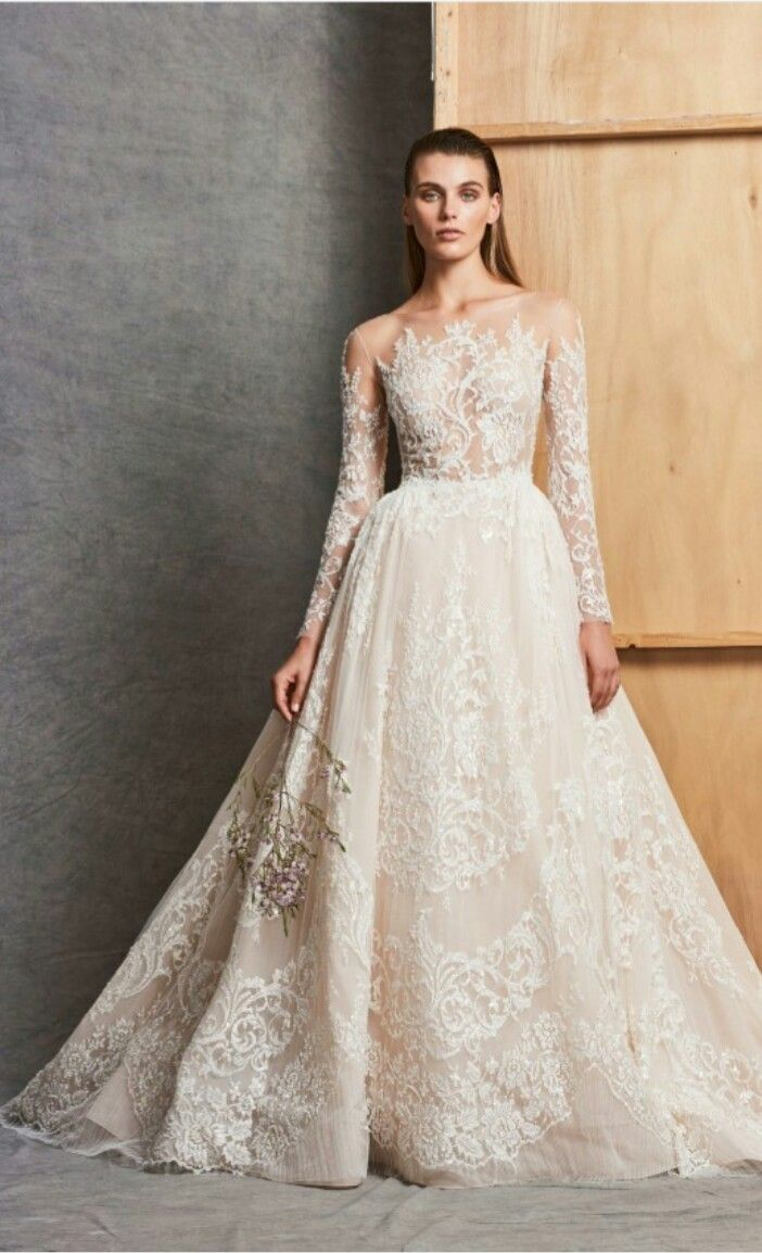 Pin By E F On Wedding 3 Wedding Dresses Zuhair Murad Wedding Dress Long Sleeve Zuhair Murad Bridal [ 1154 x 702 Pixel ]