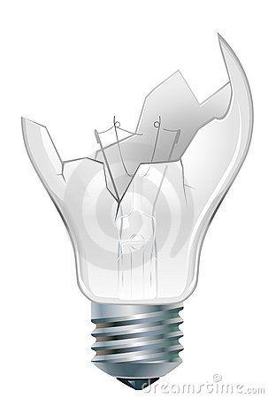 Broken Down Light Bulb Zeichnen Für Groß Klein In 2019