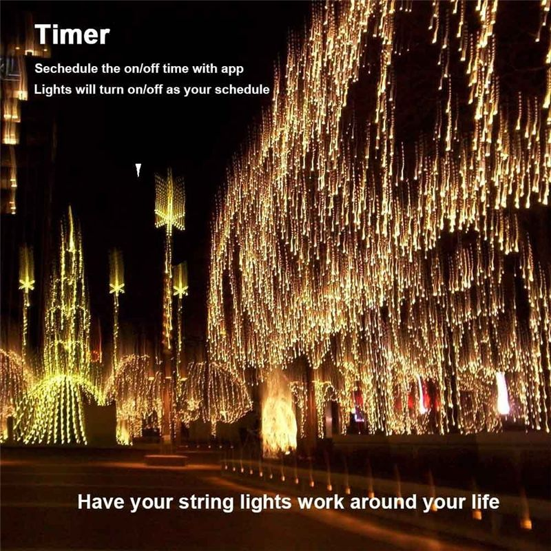 Dimmable LED Christmas Lights, 200 LED 65ft Mini String Lights-GoAmiroo  Store - Dimmable LED Christmas Lights, 200 LED 65ft Mini String Lights