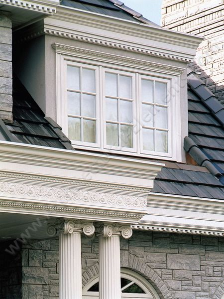 We Are Your Source For Polyurethane Crown Mouldings Columns And Trim Architecture Exterior Exterior Brick House 3d Model
