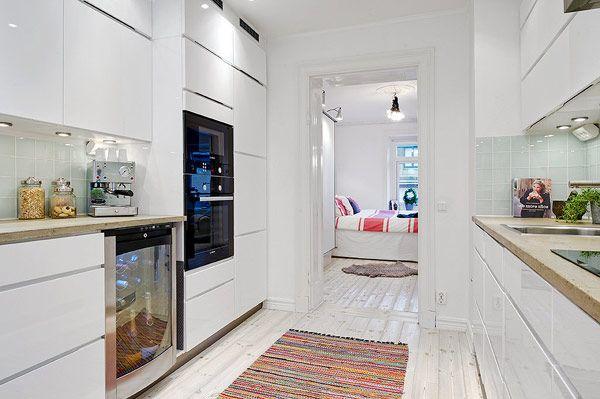 Kleine Wohnung Einrichtung Ideen Küche   Küche   Pinterest   Kleine ...