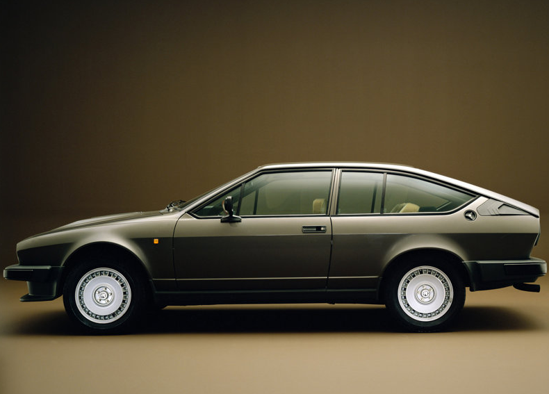 Alfa Romeo GTV6. The car I wanted my dad to buy when I was 7.