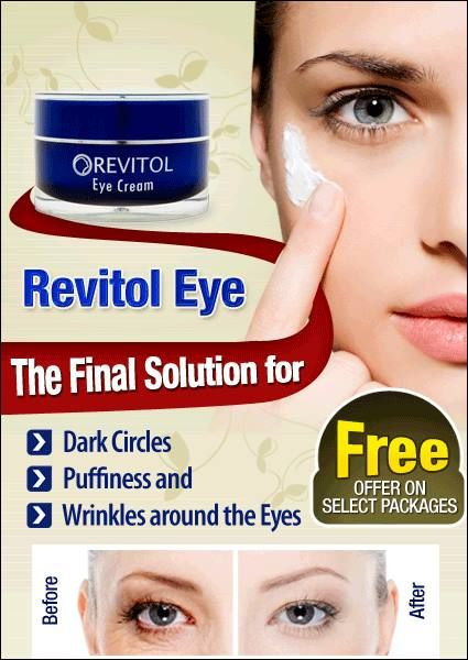 Helps Reduce Those Dark Under Eye Circles And Puffiness And