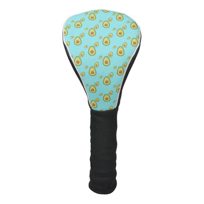 Avocado is My Spirit Fruit Golf Head Cover