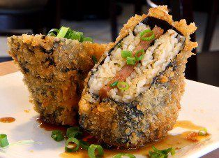 Deep Fried Spam Musubi Get recipe on CookingHawaiianStyle.com at this link: http://cookinghawaiianstyle.com/index.php/component/recipe/recipes/detail/2232/deep-fried-spam-musubi