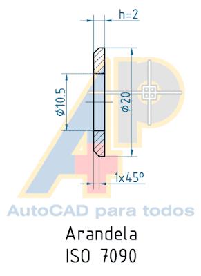Autocad Para Todos 100 Práctico Proyecto 2 Rondana Pivotante Arandela En 3d Arandela Proyectos Dibujo Tecnico Ejercicios