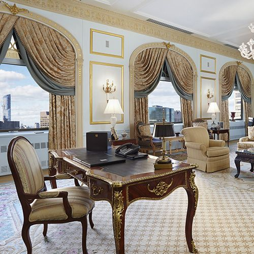 Royal Suite Astoria New York Luxury Hotels Nyc Architectural