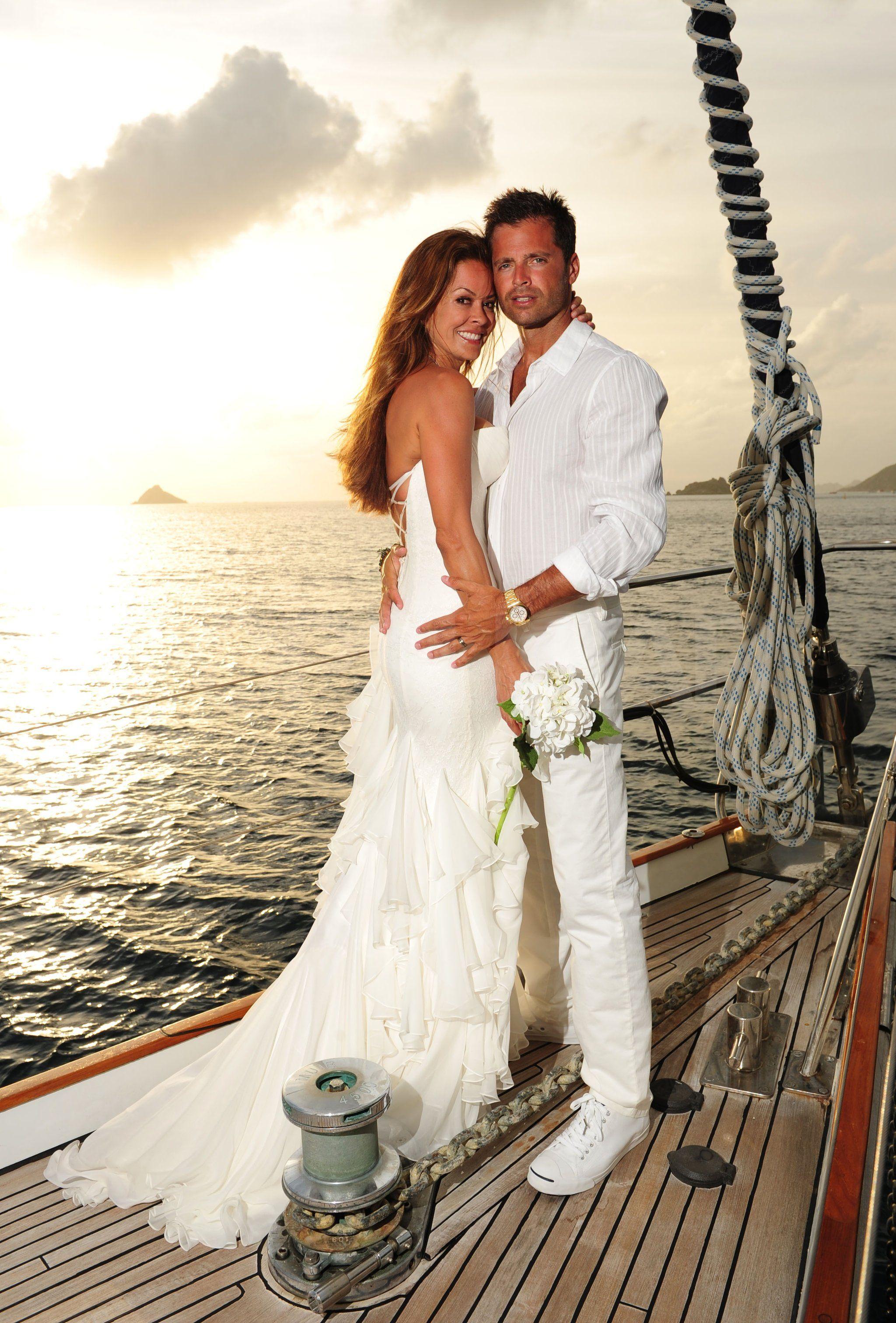 Amazing Brooke Burke U0026 David Charvet Wedding