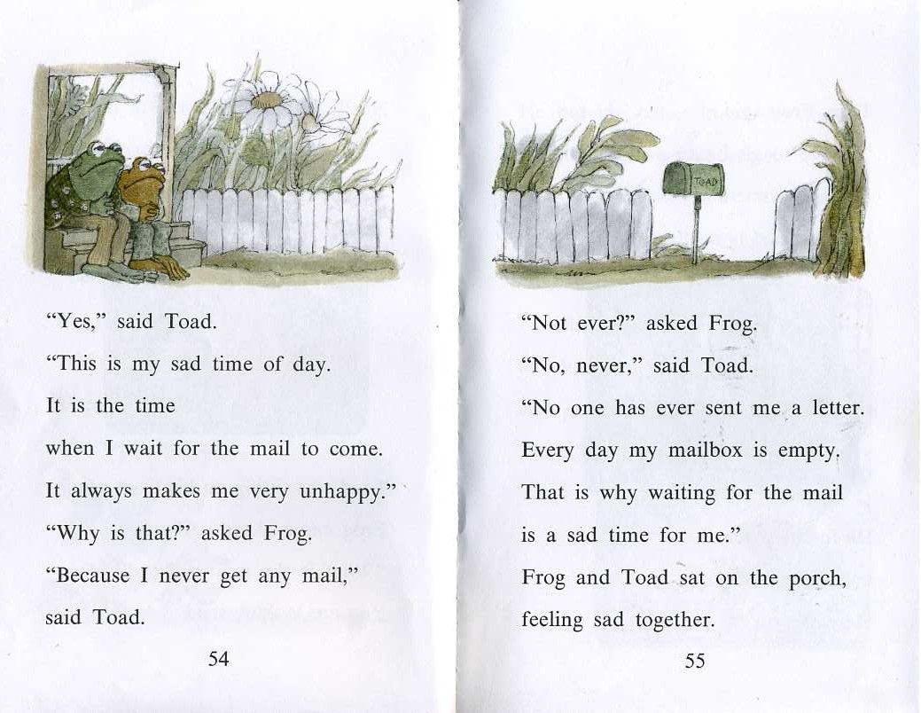 Excerpt From The Frog And Toad Books Written And