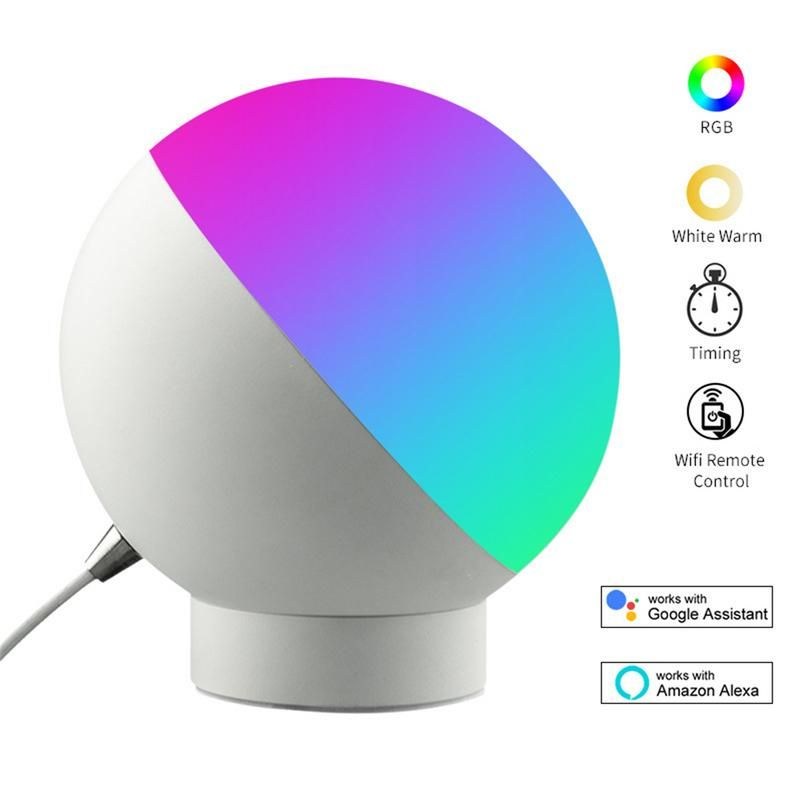 LED Table Lamp Smart Wifi Voice Control Night Light LED Eye