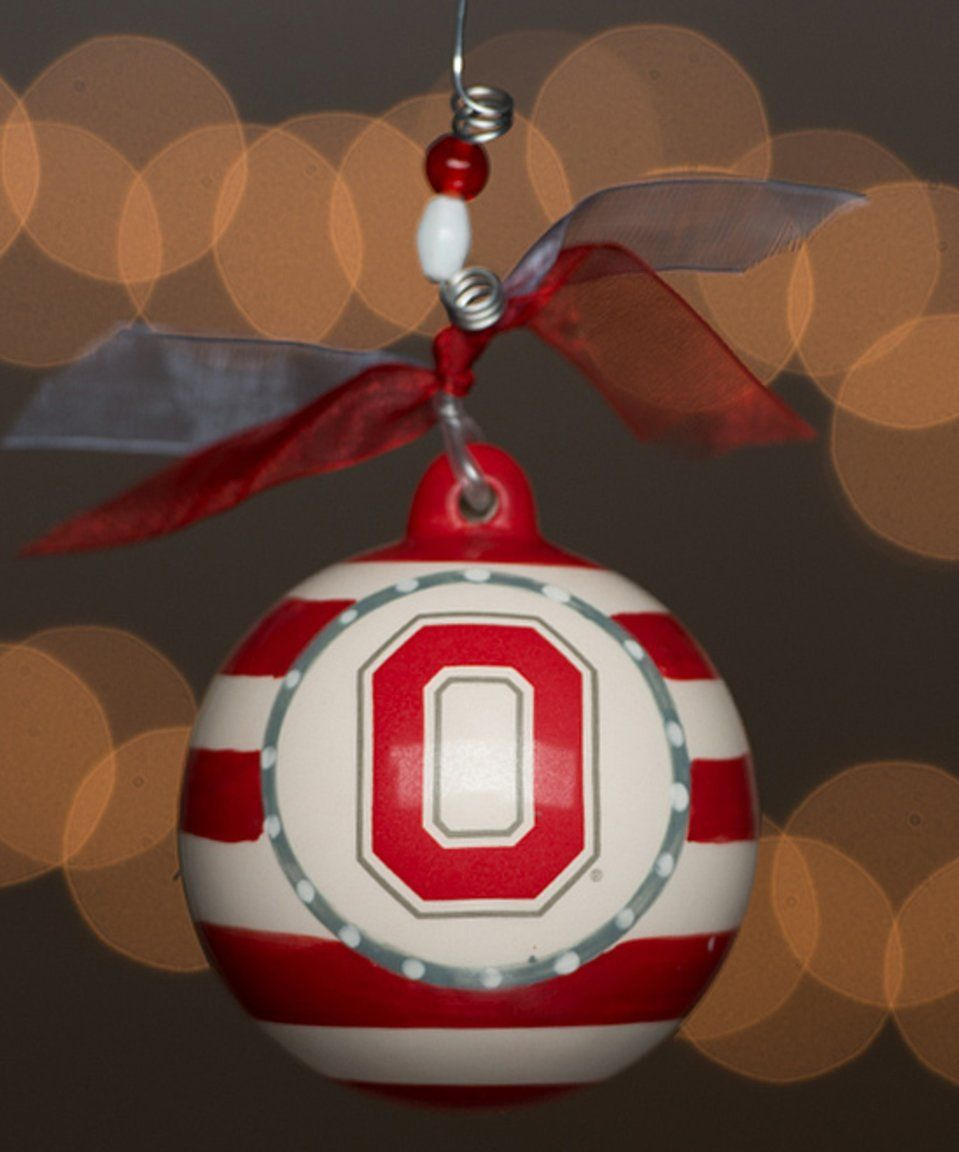 Take a look at this Ohio State Buckeyes Stripe Ornament today ...