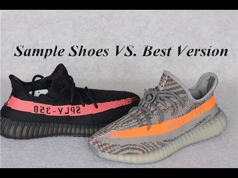 Sample Shoes vs. Best Version: Yeezy Boost 350 V2 HD Review ...