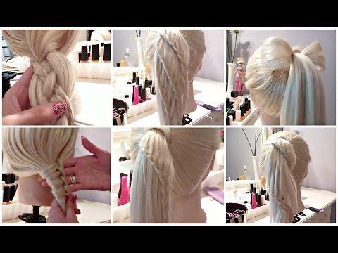 6 Easy Hairstyles Coafuri Simple De Facut Acasa Tutoriale