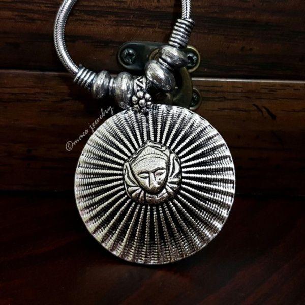 MACS Jewelry Durga pendant necklace