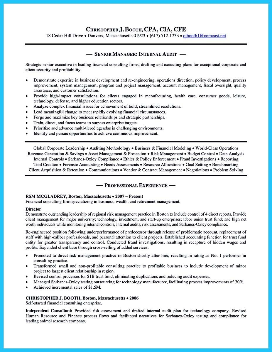 Auditor Resume Cool Making A Concise Credential Audit Resume Check More At Http