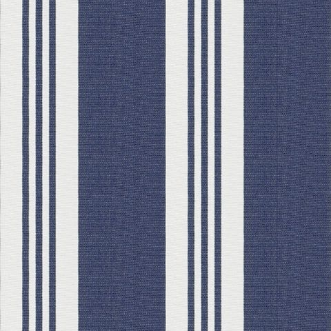 Patio Stripe - Blue - Indoor/Outdoor - Fabric - Products - Ralph ...