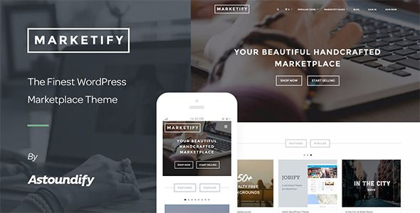 Theme Marketify 2.10.0 – Digital Marketplace WordPress Theme ...