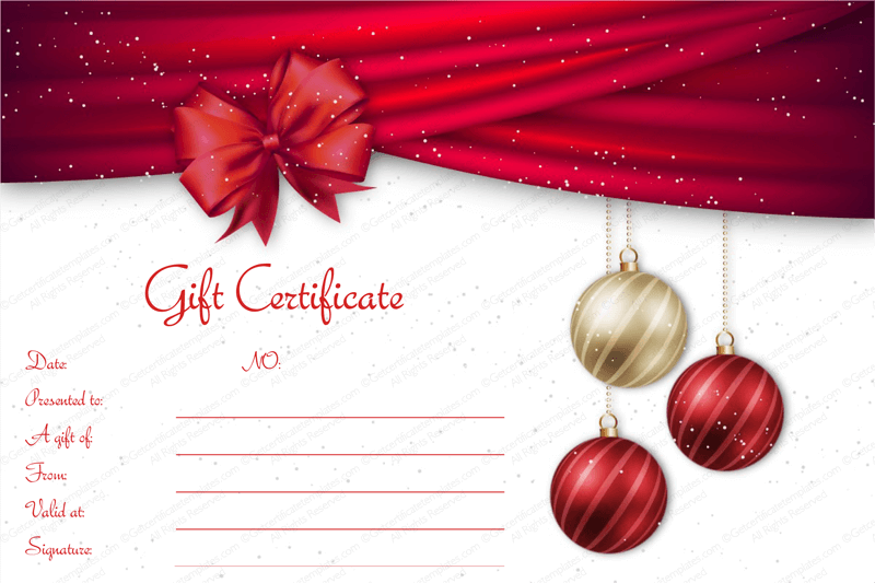 275 best Beautiful Printable Gift Certificate Templates images on – Christmas Gift Certificate Template Free