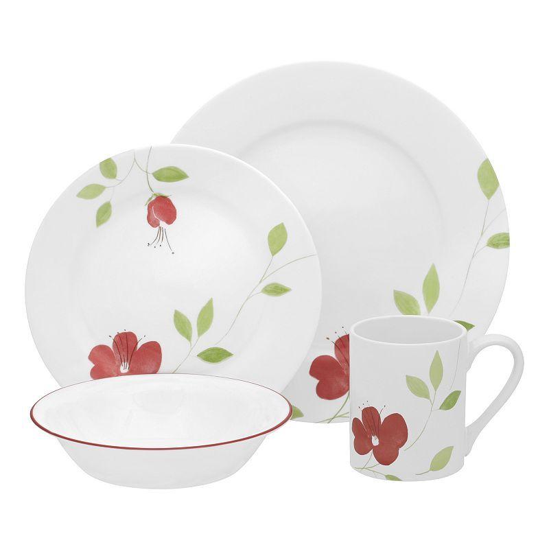 Corelle Garden Paradise 16-pc. Dinnerware Set   Cabin Getaway ...