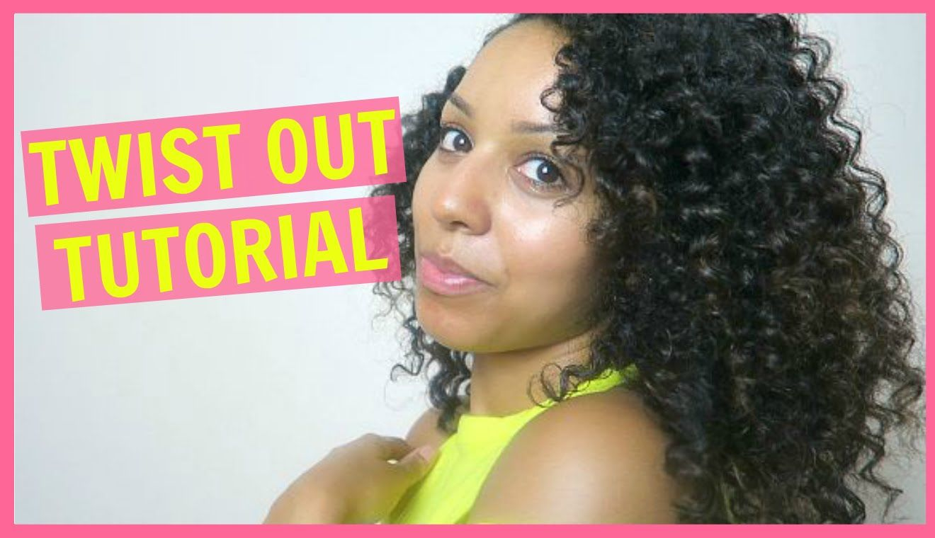 My Twist Out Tutorial! For Natural Curly Hair Curly hair