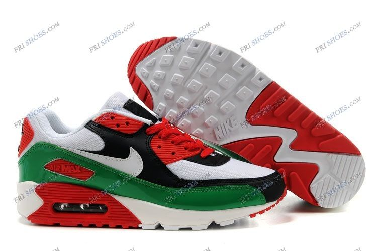 official photos 748ff a515e Nike Air Max 90 Shoes White Black Red Green for Men sport shoes Regular  Price   234.00 Special Price  88.88 Free Shipping with DHL or EMS(about 5-9  days to ...