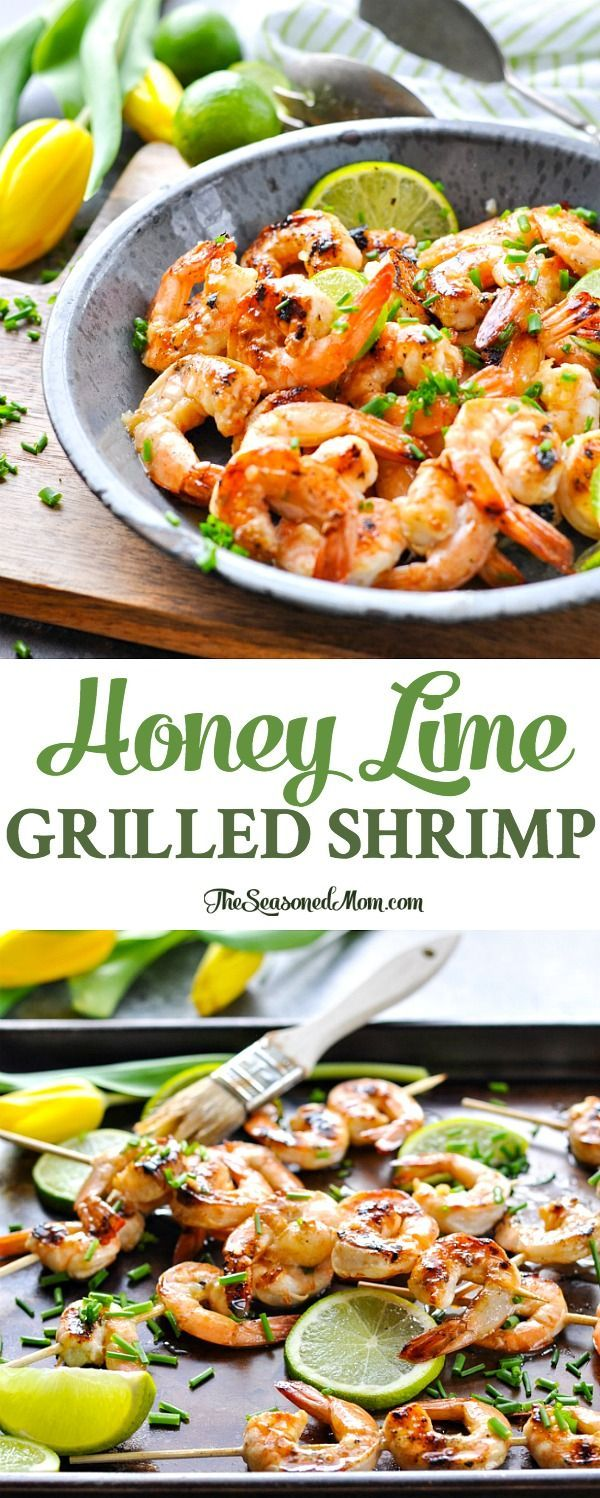 A honey lime grilled shrimp marinade makes a perfect 20 minute a honey lime grilled shrimp marinade makes a perfect 20 minute healthy seafood dinner forumfinder Image collections