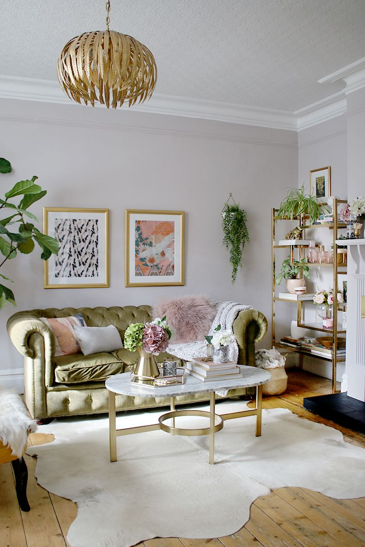 The Reveal of Our Living Room Refresh images