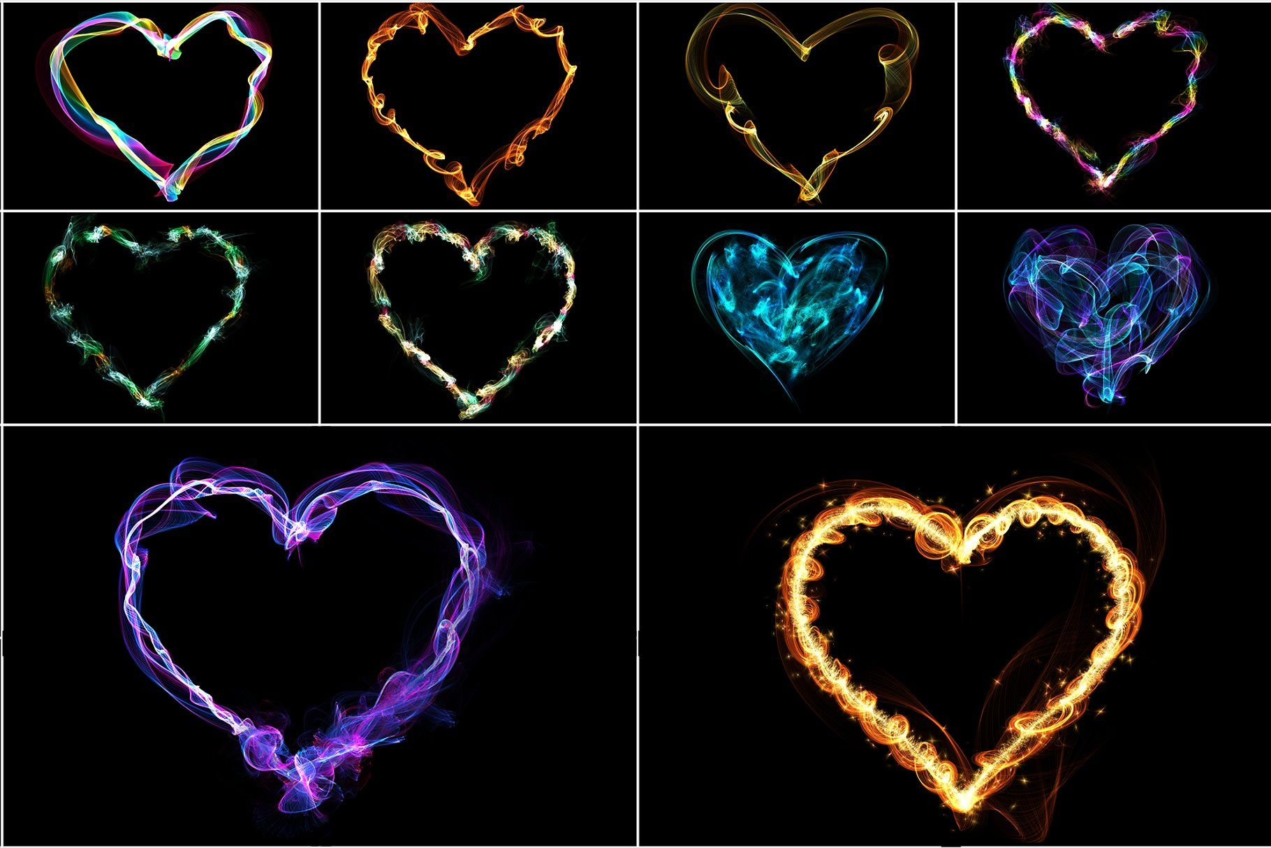 8k Hearts Overlays Hearts Overlays Textures Heart Overlay