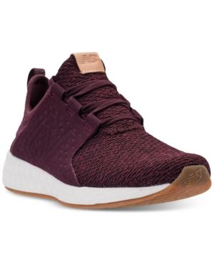 72041c8f99899 New Balance Men's Fresh Foam Cruz Running Sneakers from Finish Line -  Purple 10.5