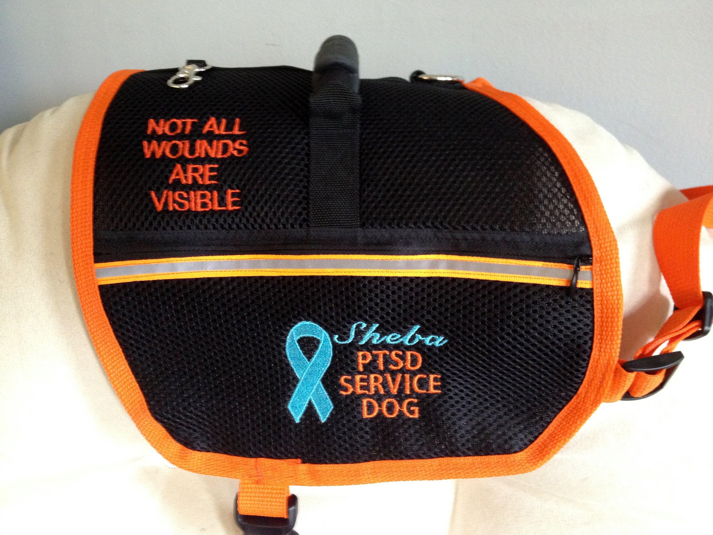 Custom Made Service Dog Vest. Custom Made Service Dog