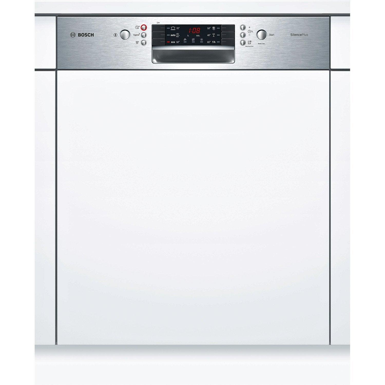 Lave Vaisselle Integrable L 59 8 Cm Bosch Smi46as04e 12 Couverts Lave Vaisselle Lave Vaisselle Encastrable Lave Vaisselle Integrable