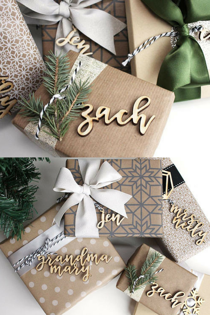 Rustic Christmas Gifts Tag #ad #christmasgifts | Home Decor ...