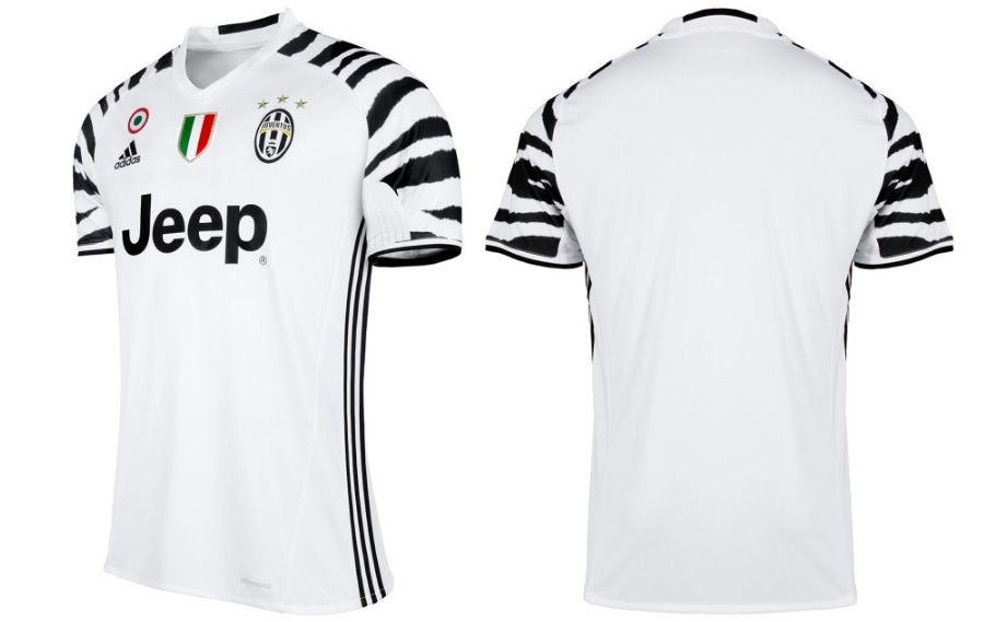 Terceira camisa da Juventus 2016-2017 Adidas kit a53402d334de8
