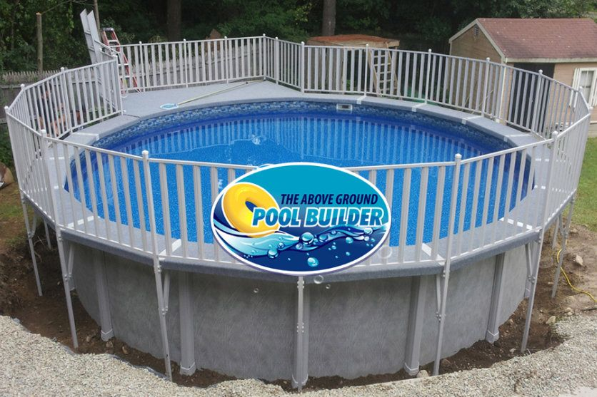 pool backyard designs fencing design idea of above ground pools with decks deck chairs decks pillars - Above Ground Pool Privacy Deck