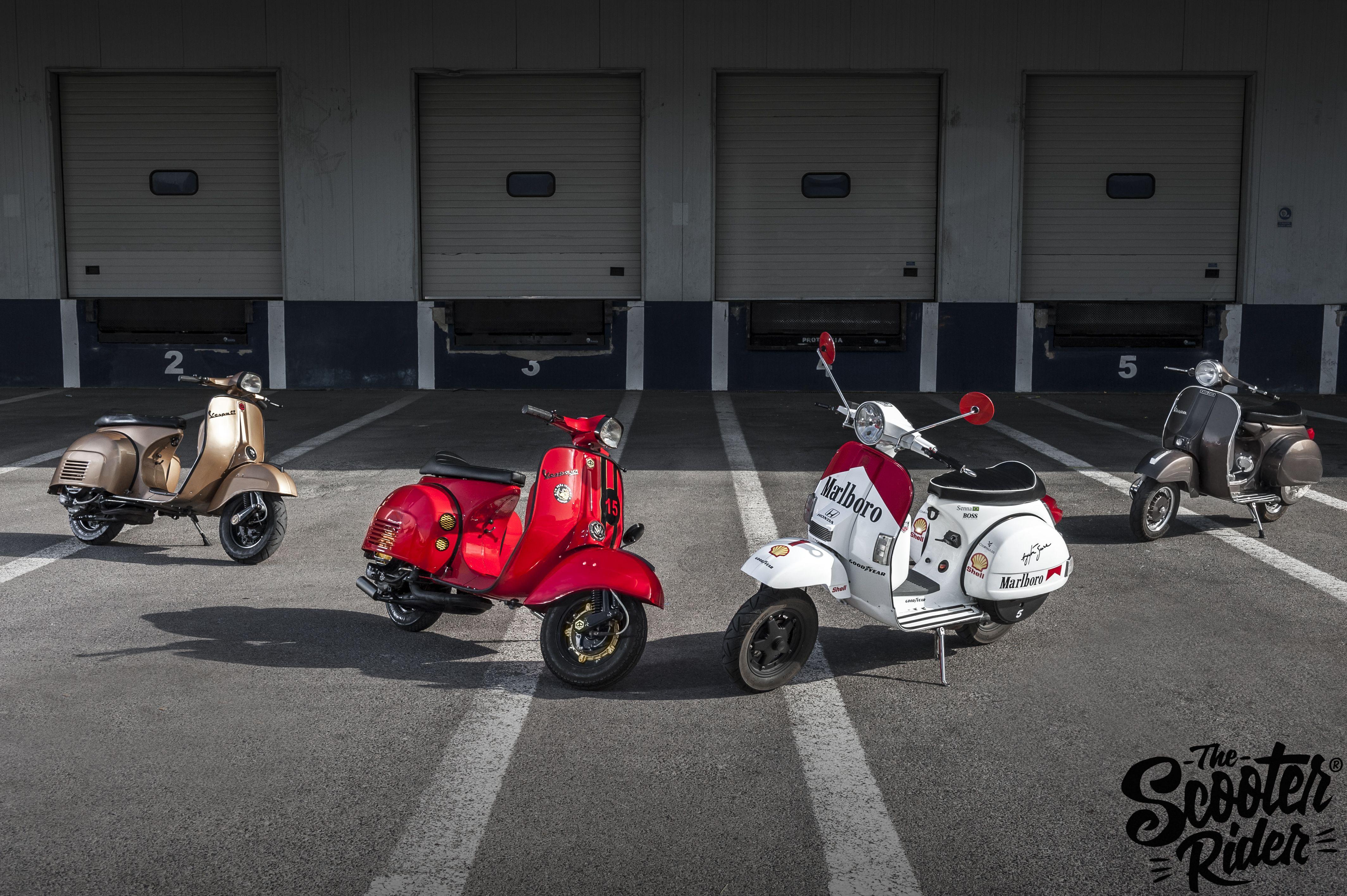 #vespa #lambretta #the scooter rider www.thescooterider.com