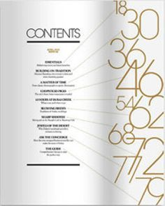 Table of contents design template google search for Table of contents design
