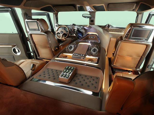 a hummer h1 may not be a luxury car but this interior sure is hummer pinterest autos. Black Bedroom Furniture Sets. Home Design Ideas