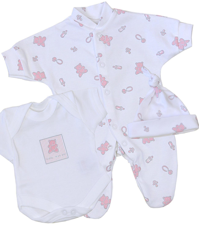 ec0ae6fda Babyprem Baby Clothes Preemie Micro Tiny Three Piece Set - Sleeper ...
