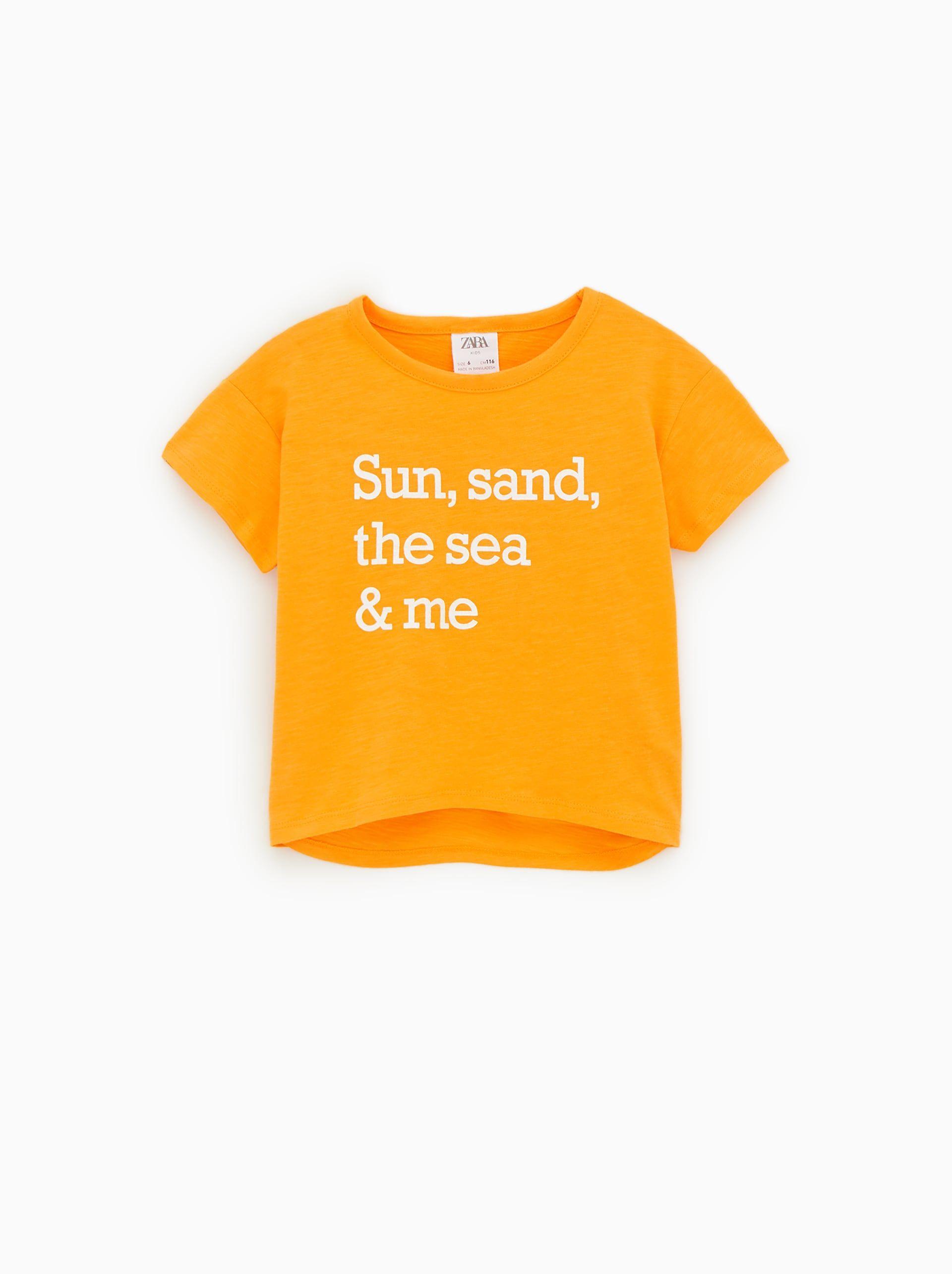 6192db4116 Girls' T-shirts | New Collection Online | ZARA United Kingdom | SS20 ...
