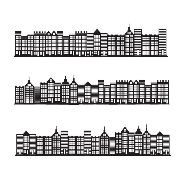 Cityscape Town City Building Design Vector And Png Building Icon Building Design City Buildings